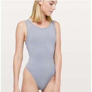 Lululemon Seek The Heat Bodysuit Lilac Bodysuit